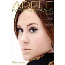 Adele For Piano Solo idegen nyelvű könyv