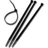 Adeleq Kábelkötegelő 100db Fekete 450 mm x 8 mm -Adeleq