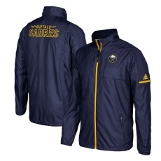 Adidas Buffalo Sabres fĂŠrfi kabát blue Authentic Rink Full-Zip Jacket - M