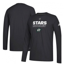 Adidas Dallas Stars fĂŠrfi hosszú ujjú póló black Authentic Ice Climalite Ultimate L/S - S