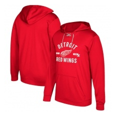 Adidas Detroit Red Wings fĂŠrfi kapucnis pulóver red Misconduct Performance Fleece Hood - L