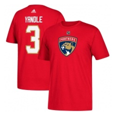 Adidas Florida Panthers fĂŠrfi póló red #3 Keith Yandle Florida Panthers - L