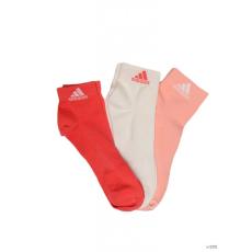 Adidas PERFORMANCE Unisex Magasszárú zokni PER ANKLE T 3PP