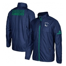 Adidas Vancouver Canucks fĂŠrfi kabát blue Authentic Rink Full-Zip Jacket - M