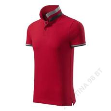ADLER Collar Up MALFINI galléros póló férfi, formula red