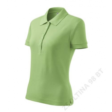 ADLER Cotton ADLER galléros póló női, borsózöld