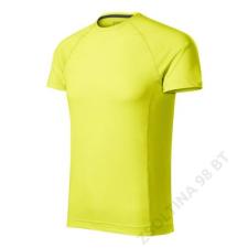 ADLER Destiny Pólók férfi, neon yellow férfi póló