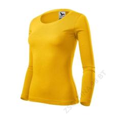 ADLER Fit-T LS Pólók női, sárga női póló
