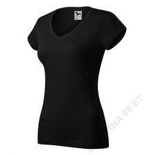 ADLER Fit V-neck Pólók női, fekete női póló