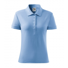 ADLER Női galléros póló Cotton Heavy - nebesky modrá / 2XL női póló