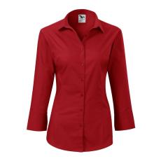 ADLER Női háromnegyedes ujjú ing Style - Červená | L
