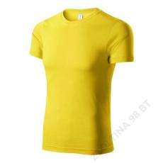 ADLER Paint PICCOLIO pólók unisex, sárga