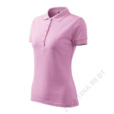 ADLER Pique Polo ADLER galléros póló női, rózsaszín