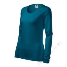 ADLER Slim Pólók női, petrol blue női póló