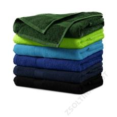 ADLER Terry Towel ADLER törülköző unisex, fekete