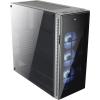 Aerocool QUARTZ PRO Tempered Glass ATX PC ház, tápegység nélkül, USB 3.0