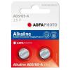 Agfaphoto alkáli gombelem LR48 AG5 (2db)