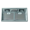 Airmec BASIC 50 PLUS felső szekrénybe vagy kürtőbe építhető páraelszívó