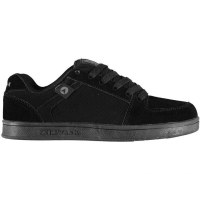 Airwalk gyerek cipő - Airwalk Brock Junior Skate Shoes Black - Gyerek cipő   árak ffe0d04fef