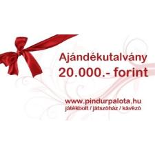Ajándékutalvány 20.000.- Ft ajándéktárgy