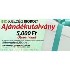 Ajándékutalvány 5000 Ft értékben ajándéktárgy