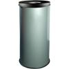 Alda EKO fém szemetes kosarak szelektív hulladékhoz, 45 l térfogat, Kapacitás: 45 L, Anyag: fém, Típus: nyitott, Szín: Szürke, Kupak színe: Fekete, Magassá%