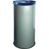 Alda EKO fém szemetes kosarak szelektív hulladékhoz, 45 l térfogat, Kapacitás: 45 L, Anyag: fém, Típus: nyitott, Szín: Szürke, Kupak színe: Kék, Magasság:%