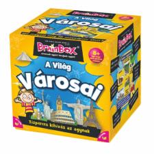 Alex Toys BrainBox társasjáték - A Világ városai társasjáték