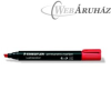 Alkoholos marker, vágott, STAEDTLER Lumocolor 350, piros