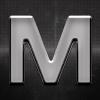 All Ride Krómozott betű M 27x27mm 20113
