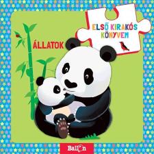- ÁLLATOK - ELSÕ KIRAKÓS KÖNYVEM gyermek- és ifjúsági könyv
