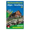 Allgäu – Vorarlberg túrakalauz / Hétvégi kirándulások / Wochenendtouren / Bergverlag Rother