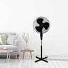 Álló ventilátor, 45 W, fekete