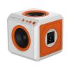 """Allocacoc Hangszóró, hordozható, vezeték nélküli, Bluetooth, Jack csatlakozó,  """"audioCube Portable EU"""""""