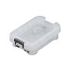 ALLSTORE Műanyag tárolódoboz, átlátszó, 0,1 liter,