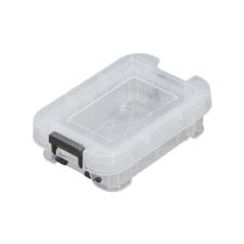 ALLSTORE Műanyag tárolódoboz, átlátszó, 0,1 liter, papírárú, csomagoló és tárolóeszköz