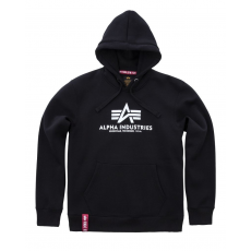 Alpha Indsutries Basic Hoody - fekete
