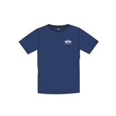 Alpha Indsutries Basic T Small Logo - navy