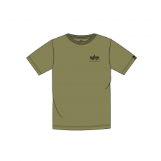 Alpha Indsutries Basic T Small Logo - olive
