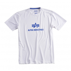 Alpha Industries Body Logo T - fehér
