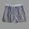 Alpha Industries Bodywear Boxer Checked - fekete kockás