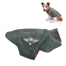 Alpha Industries Dog MA-1 Nylon Flight Jacket