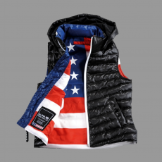 Alpha Industries Down Vest Kids - fekete