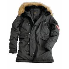 Alpha Industries Explorer Női - replica szürke kabát