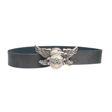 Alpha Industries Leather Belt Eagle