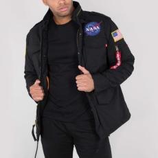 Alpha Industries M-65 Heritage NASA - fekete