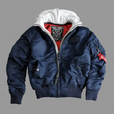 Alpha Industries MA-1 D-Tec - replica blue