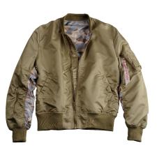 Alpha Industries MA-1 Reversible Camo - stratos férfi kabát, dzseki