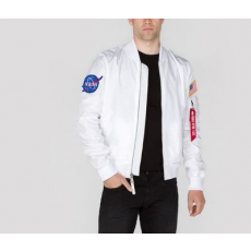 Alpha Industries MA-1 TT NASA Reversible - fehér