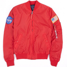 Alpha Industries MA-1 TT NASA Reversible - speed red